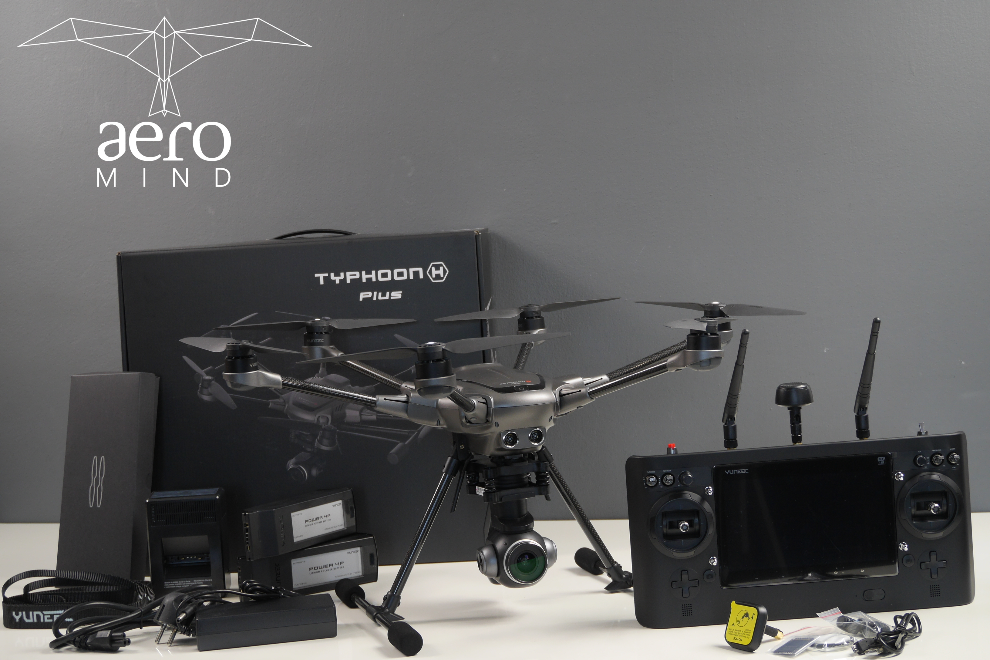 Yuneec Typhoon H Plus aeroMind