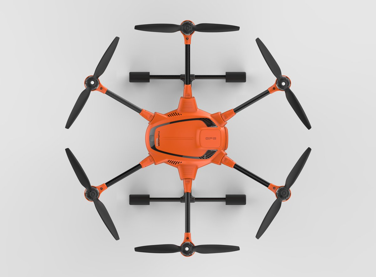 aeroMind Typhoon H520 hexacopter fotogrametria