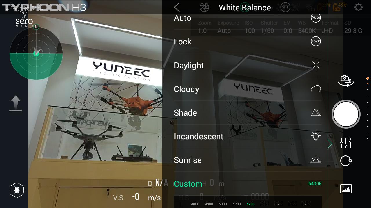 Yuneec Typhoon H3 ST16 Screenshot