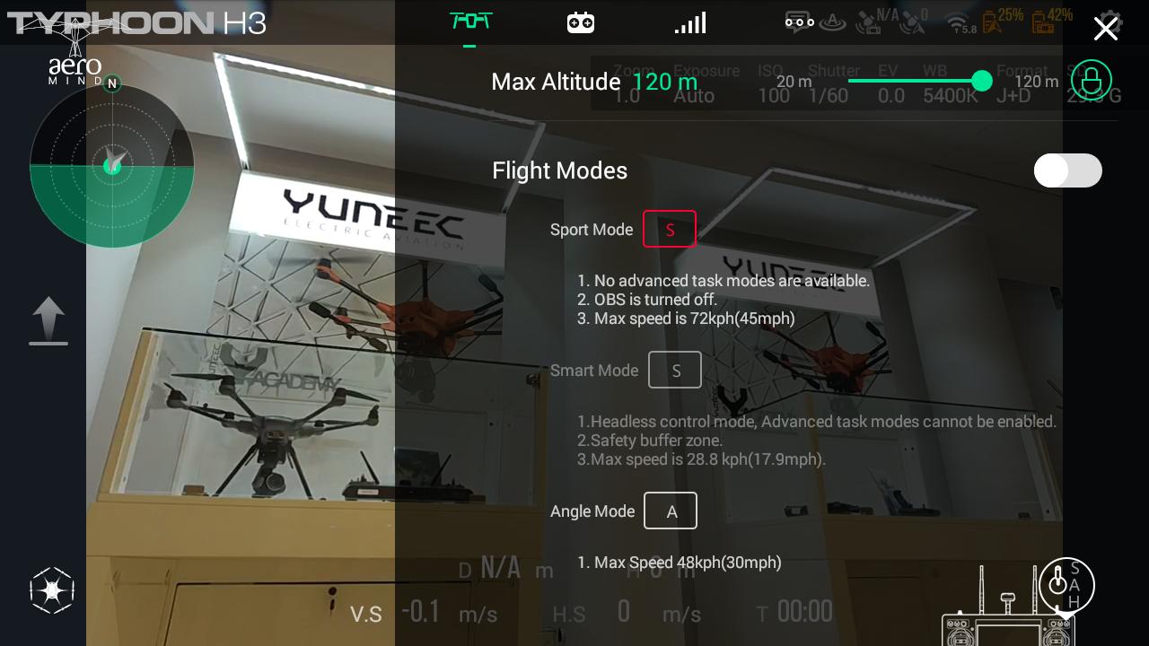 Yuneec Typhoon H3 ST16S Screenshot