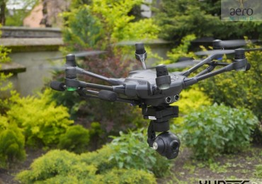 Yuneec Typhoon H oblatany!