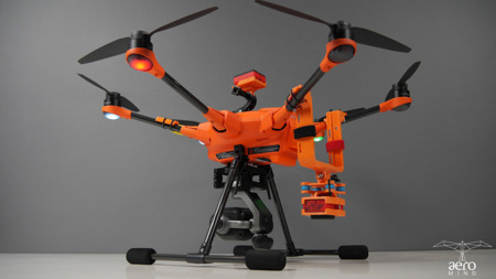 Dedicated mounting PARROT SEQUOIA+ or RedEdge camera for Yuneec H520 Drone