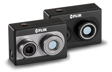 Flir DUO Lepton thermal imager with MSX®, plus HD visible imager