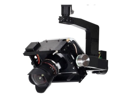Gimbal Zero Tech Z3000 for Black Magic Cinema Camera