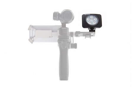Lampa manfrotto do DJI Osmo