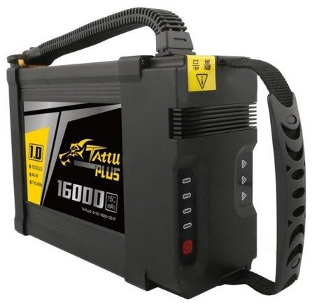 Tattu Plus 1.0 16000mAh 44.4V 15C 12S1P AS150U Battery
