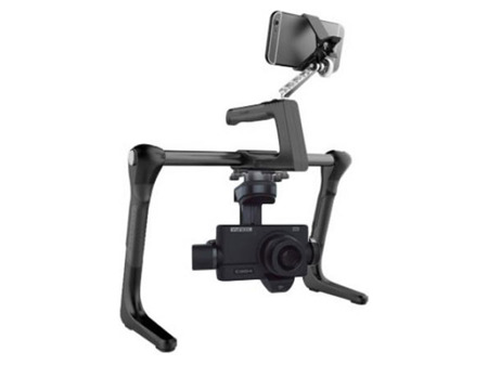 Yuneec ProAction ground handle with CGO4 camera