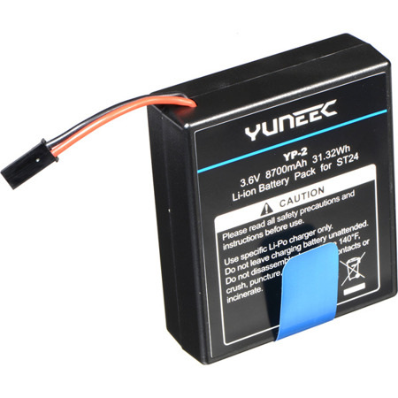 Yuneec ST24 Li-ion Battery 8700mAh 1-Cell/1s 3.6v