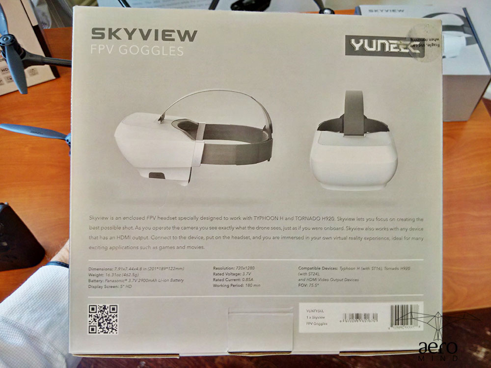 Goggle Yuneec Skyview